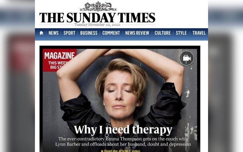 """""""The Sunday Times"""""""