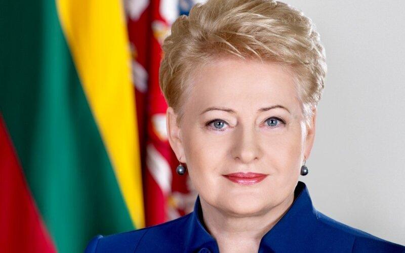 Dalia Grybauskaitė EN