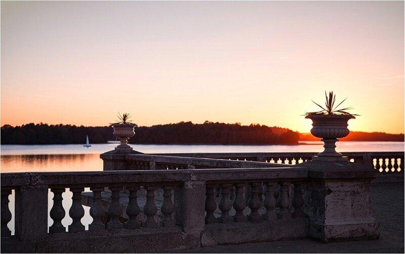 Įspūdinga panorama atsiverianti į Galvės ežerą
