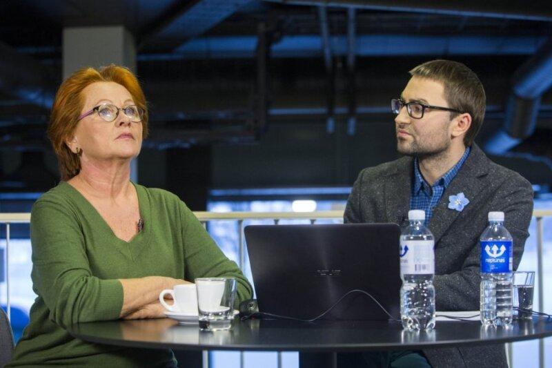 Nijolė Oželytė ir Mindaugas Jackevičius