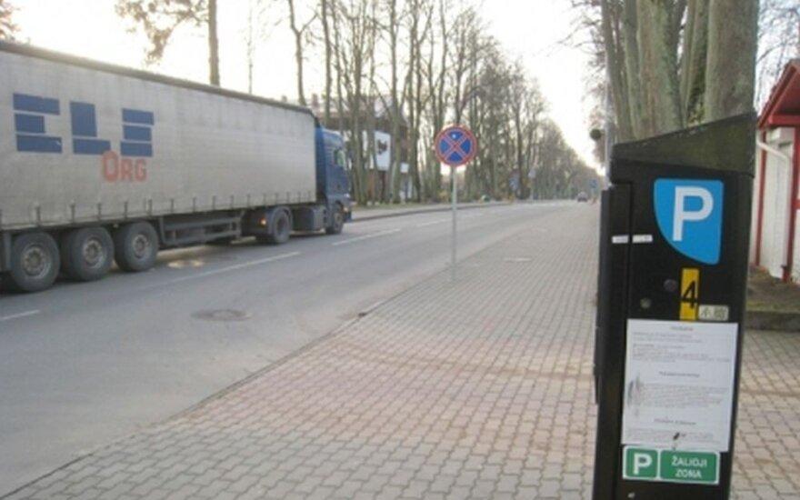 Dviprasmiška situacija Palangoje, Vytauto gatvėje, sukėlė moters pasipiktinimą