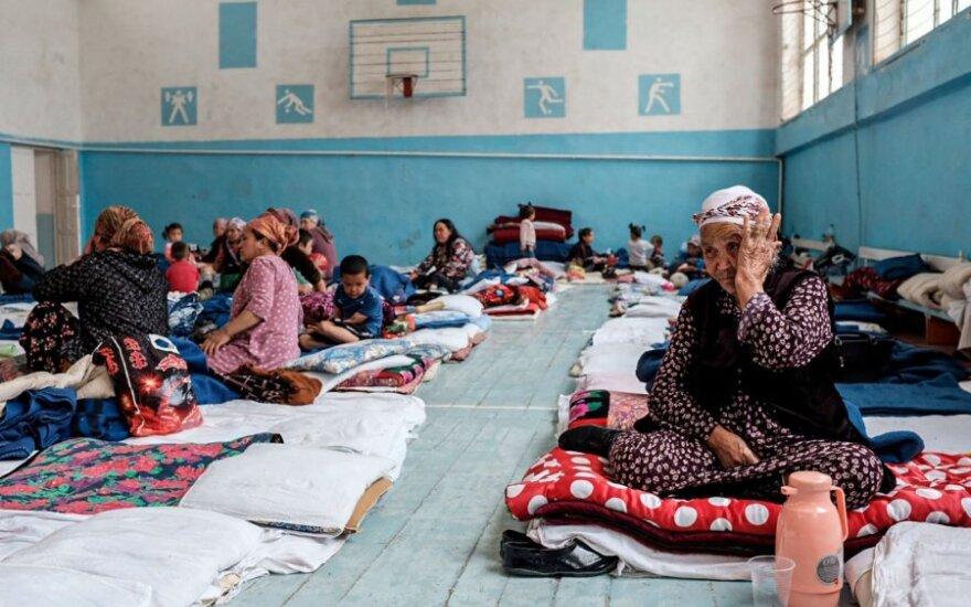 Kirgizijoje susidarius kelioms purvo nuošliaužoms žuvo 6 žmonės, dingo 2 vaikai