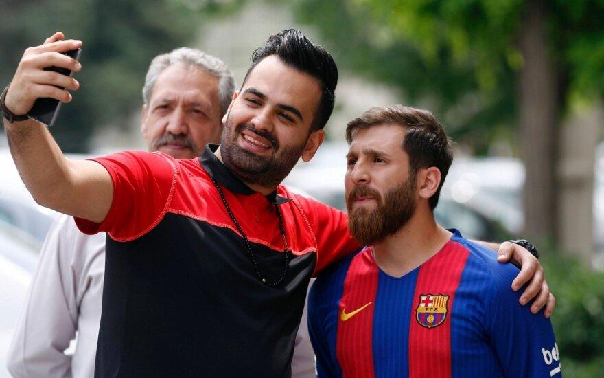 Messi antrininkas Reza Parastesh