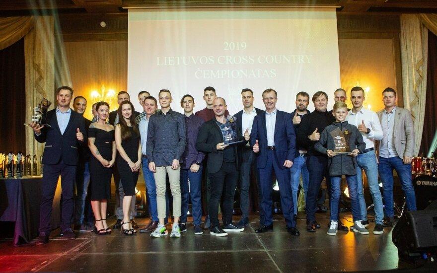 Lietuvos motociklų sporto federacijos apdovanojimai 2019. LMSF nuotr.