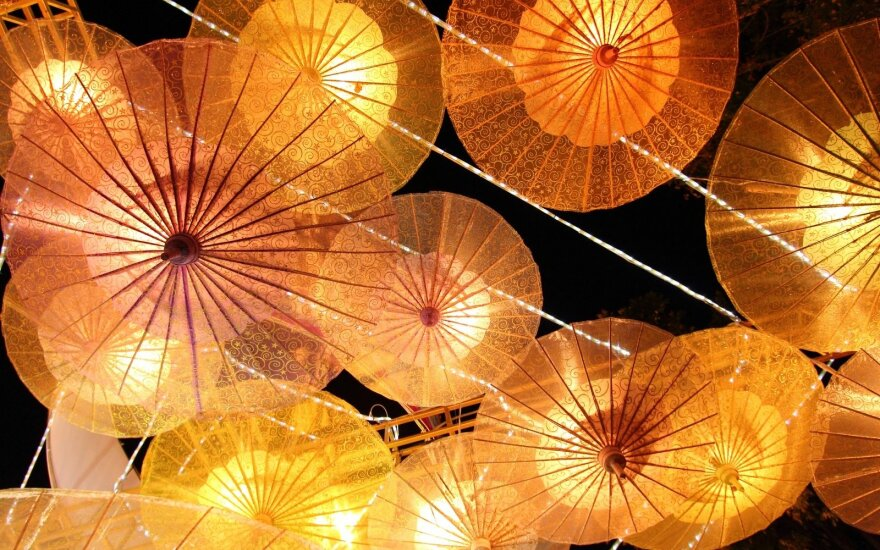 Chinese lantern festival kicks off in Lithuania