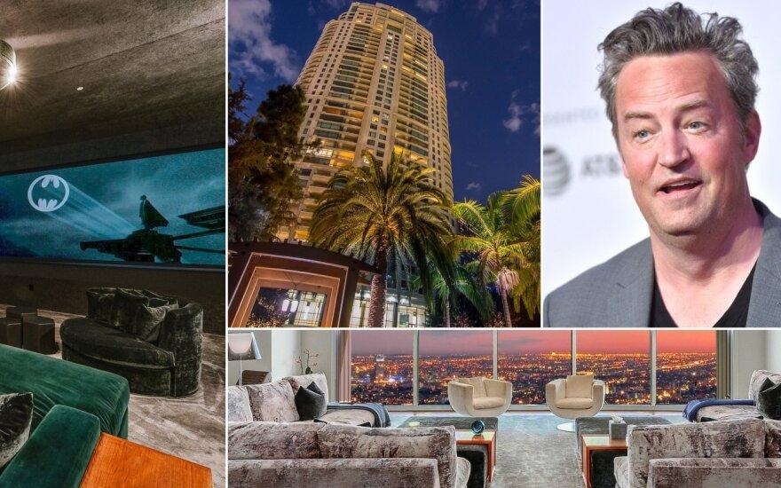 Matthew Perry apartamentai Los Andžele