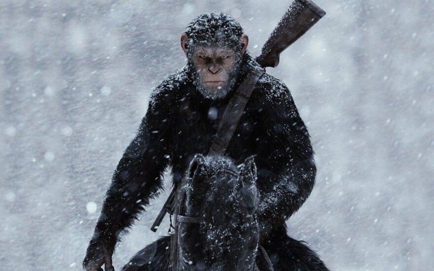 """Kadras iš filmo """"Karas už beždžionių planetą"""""""