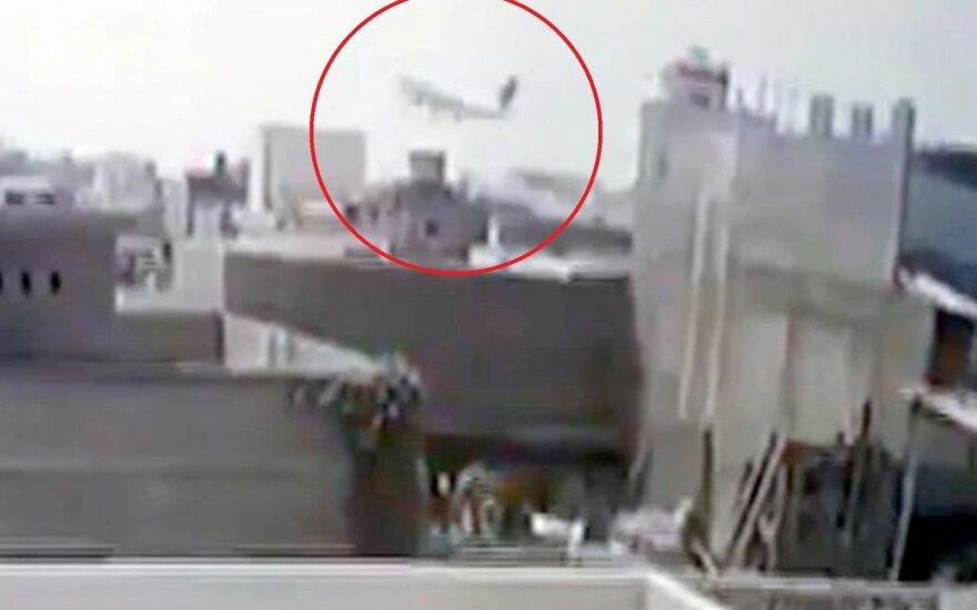 Per stebuklą lėktuvo katastrofą išgyvenęs vyras: nieko negalėjai įžiūrėti