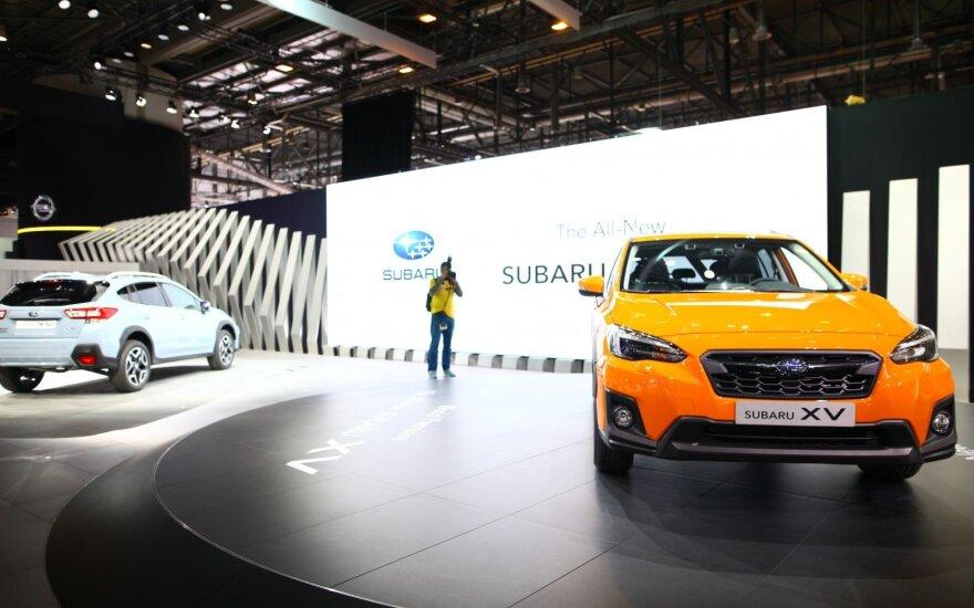 """Naujasis """"Subaru XV"""""""