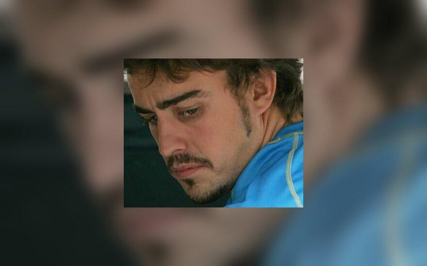 Fernando Alonso po Kinijos GP