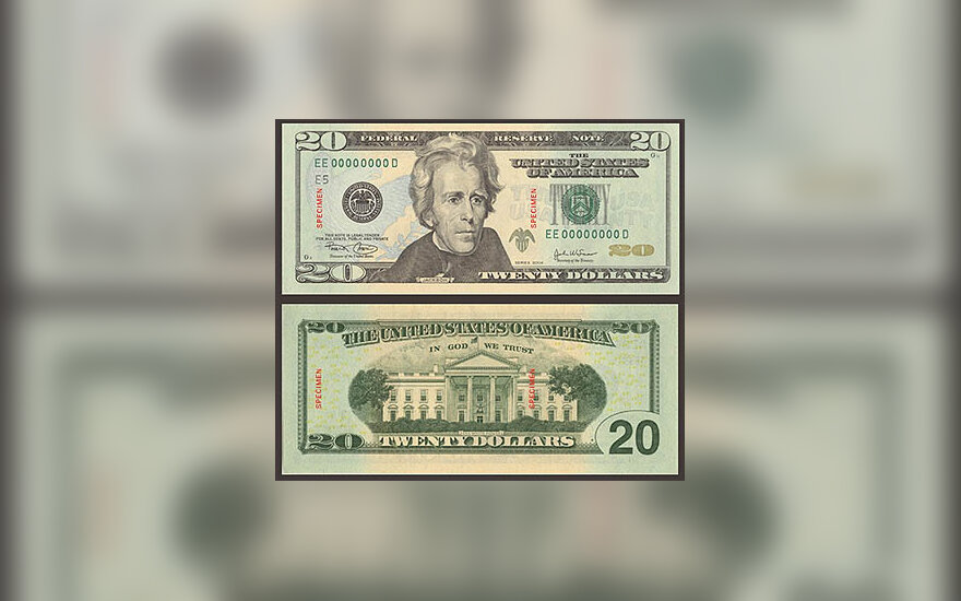 20 JAV dolerių banknotas