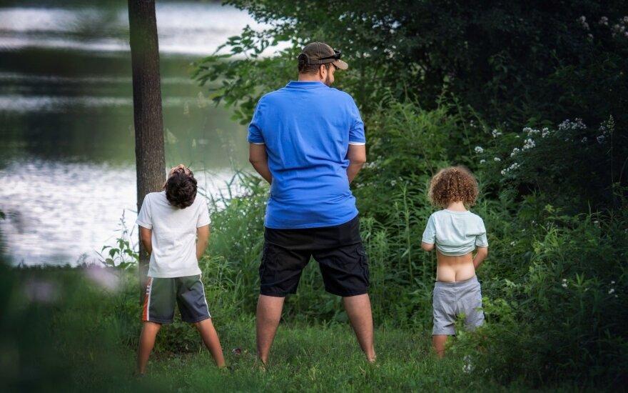 Tėtis ir vaikas, Giedrė Gomes