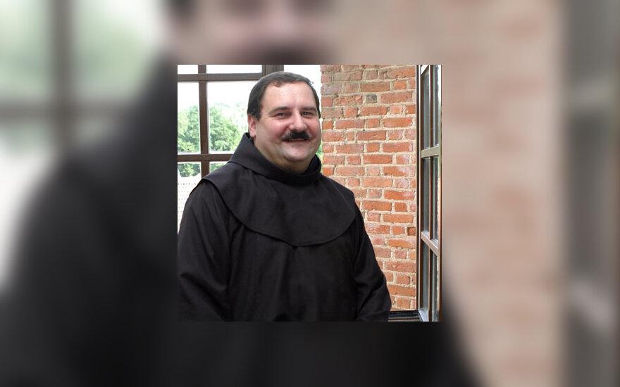 Pranciškonų ordino vienuolis psichologas Arūnas Peškaitis