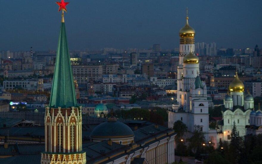 Kremlius perspėja JAV neskelbti Rusijos pareigūnų juodojo sąrašo