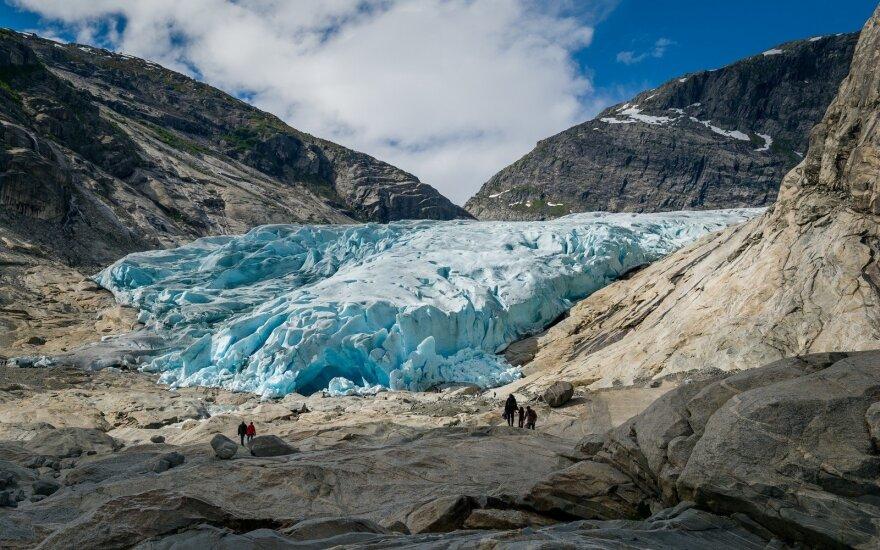 Norvegijos ledynų laukia tragiškas likimas