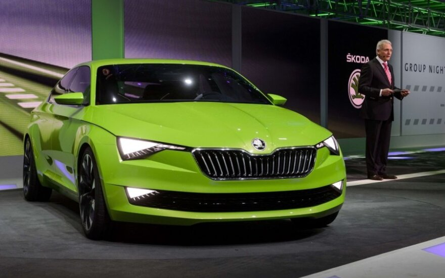 Škoda VisionC koncepcija