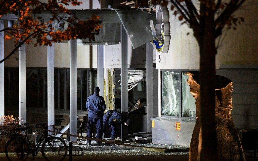 Švedijoje nugriaudėjo galingas sprogimas