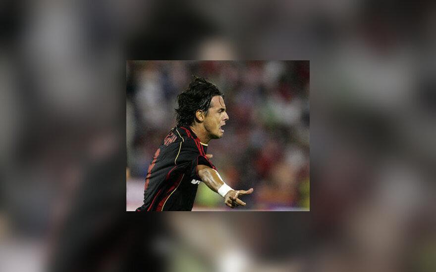 "Filippo Inzaghi (""AC Milan"")Filippo Inzaghi (""AC Milan"")"