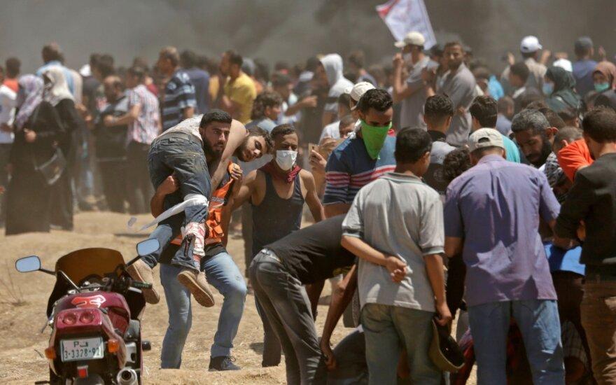 Blokuotas nepriklausomas JT tyrimas dėl smurto Gazos Ruože