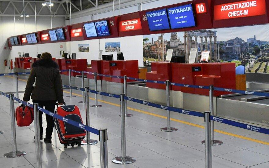 Oro uoste praleido 8 valandas ir gavo tik 5 eurus