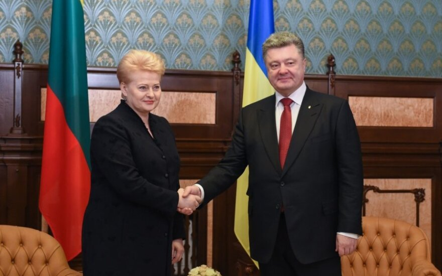 President Poroshenko meets President Grybauskaitė in Kyiv