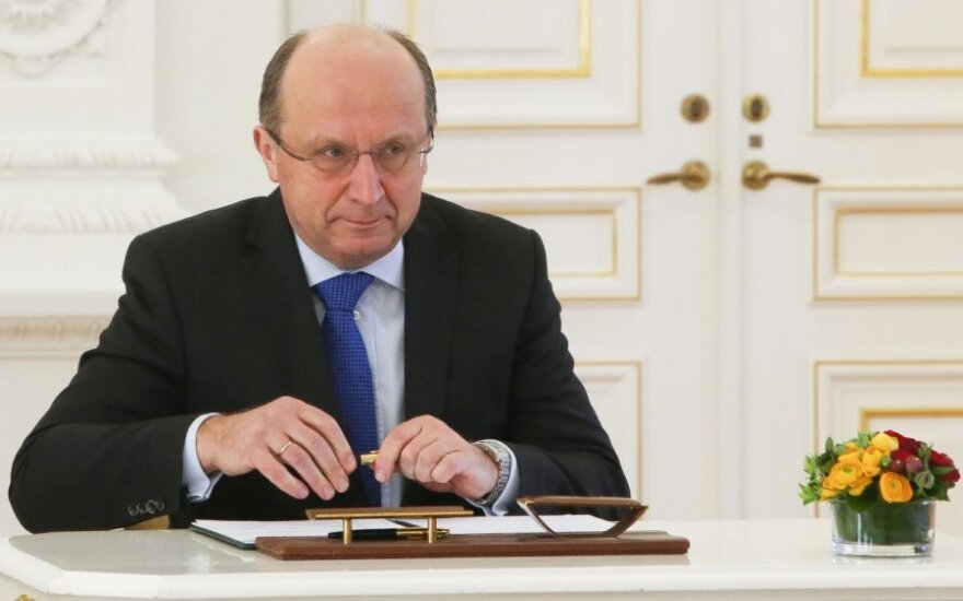 Įvykiai Rusijoje neilgam nudžiugino A. Kubilių