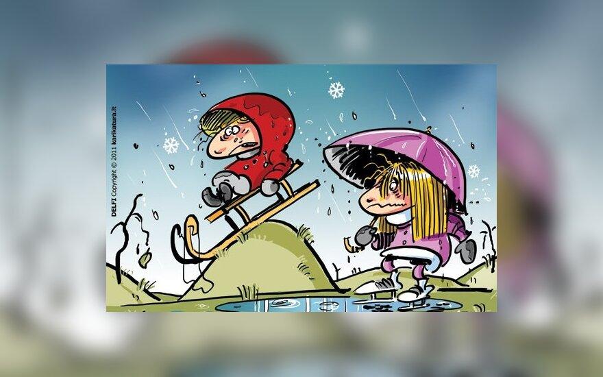 Šilta, besniegė žiema varo į neviltį verslininkus