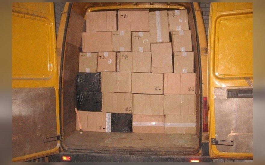Pasieniečiai Biržų r. aptiko kontrabandos už pusę milijono eurų