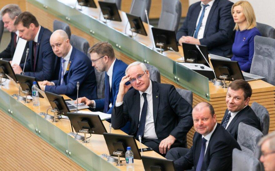 Verygą šią savaitę pavaduoja švietimo ministras Monkevičius