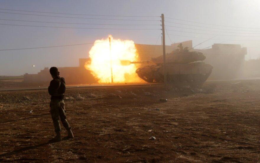 Nepaisant įsigaliojusių paliaubų netoli Damasko kilo susirėmimai