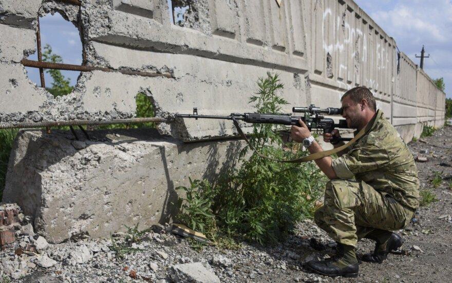 Ukrainiečiai sulaikė rusų pulkininką, kovojusį Donbase