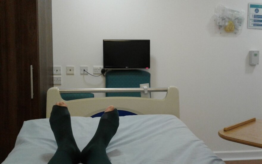 Lietuvis nesitikėjo tokios paslaugų kokybės Anglijos ligoninėje – nori išsklaidyti mitus