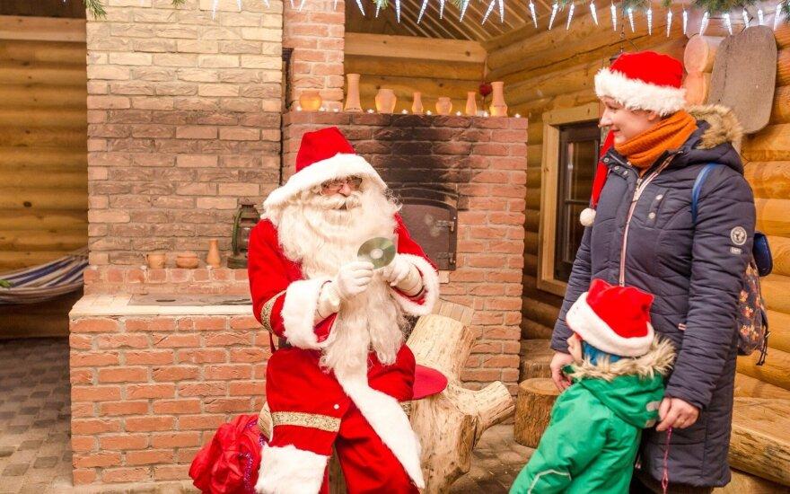 """Kalėdų miestelio atidarymas """"Atostogų parke"""""""