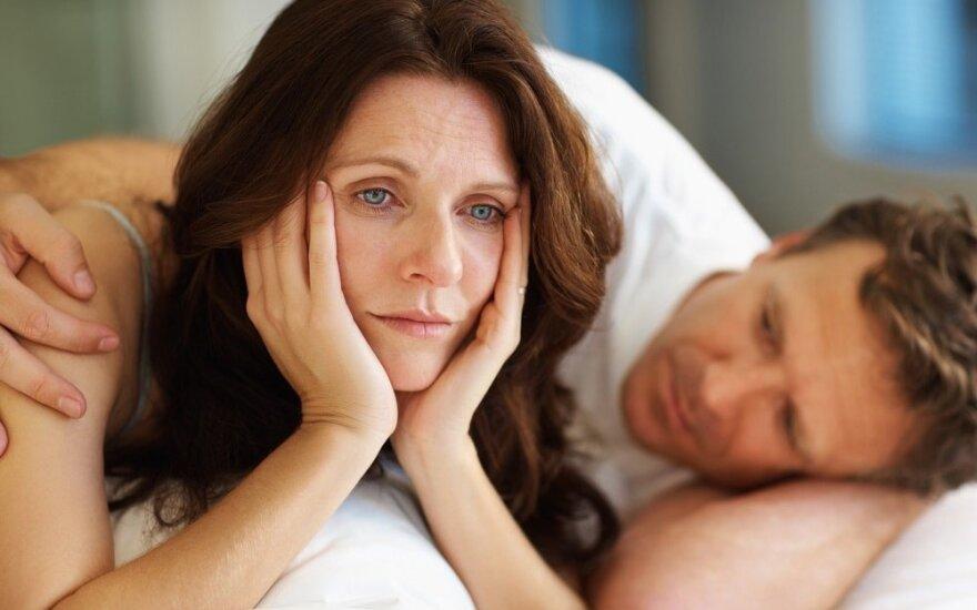 Kaip pagerinti seksualinį gyvenimą po menopauzės