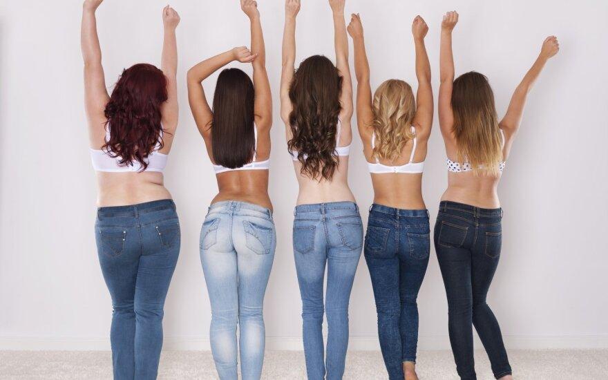 Keisti būdai, kurių merginos griebiasi, kad jų džinsai atrodytų tobulai