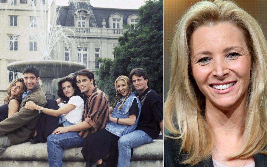"""Lisa Kudrow, serialo """"Draugai"""" aktoriai"""