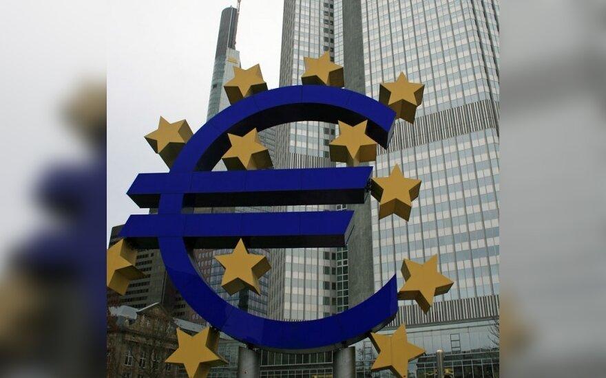 Europos centrinis bankas bazinių palūkanų nekeitė