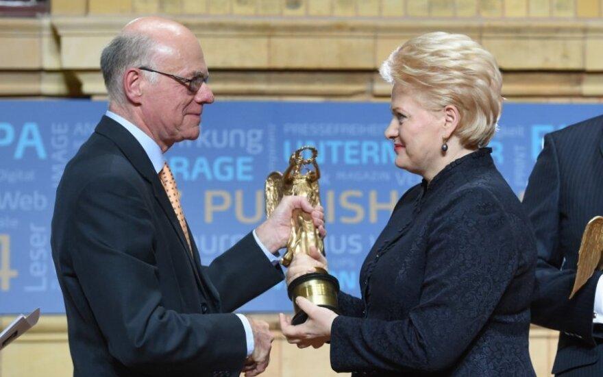 D. Grybauskaitė, N. Lammertas