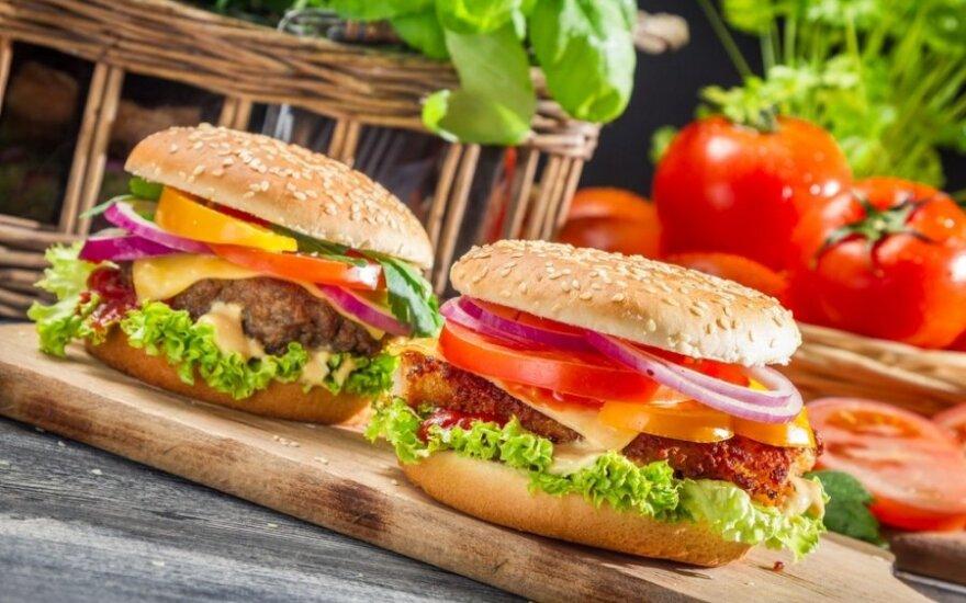 Kaip pasigaminti sveiką mėsainį namuose
