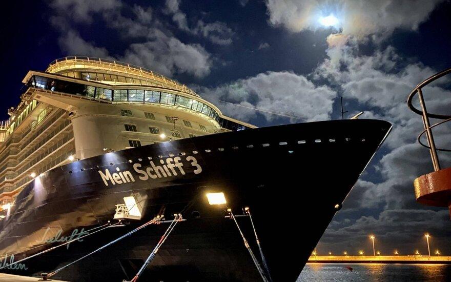 Vokietijoje karantinas skirtas beveik 3 tūkst. kruizinio laivo įgulos narių