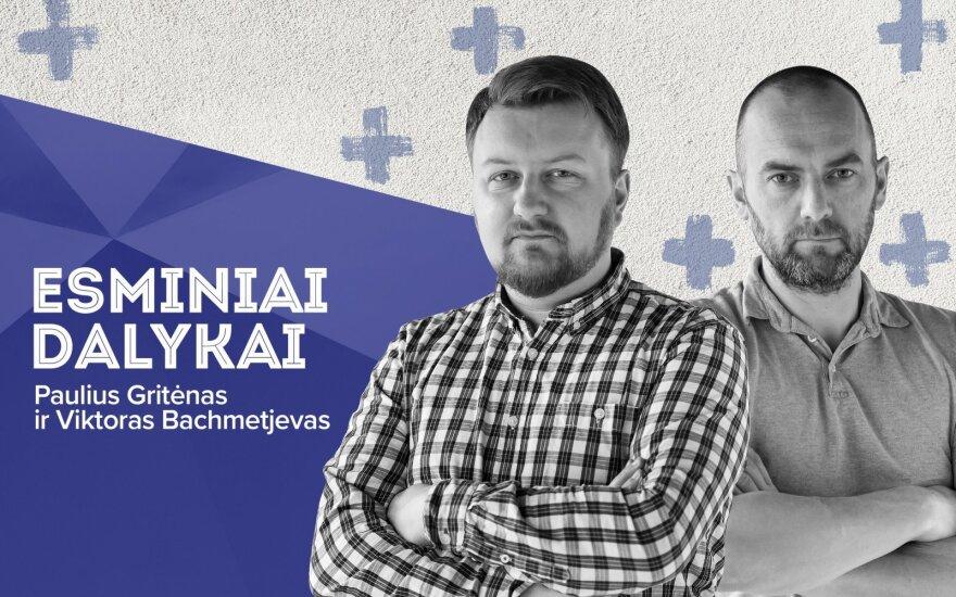 Paulius Gritėnas ir Viktoras Bachmetjevas