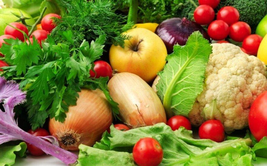 Europoje brangsta vaisiai ir daržovės