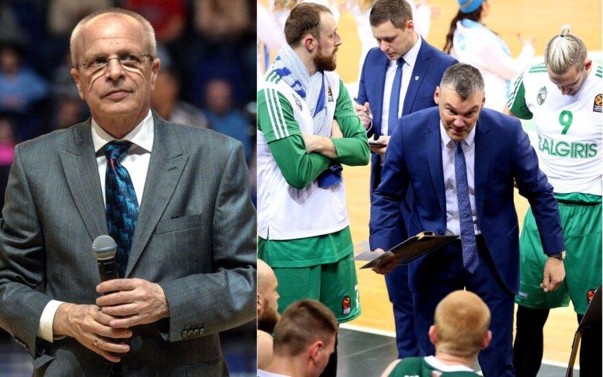 """Gomelskis pasisakė apie """"Žalgirį"""": Eurolygos finalo ketverte – vietos nėra"""