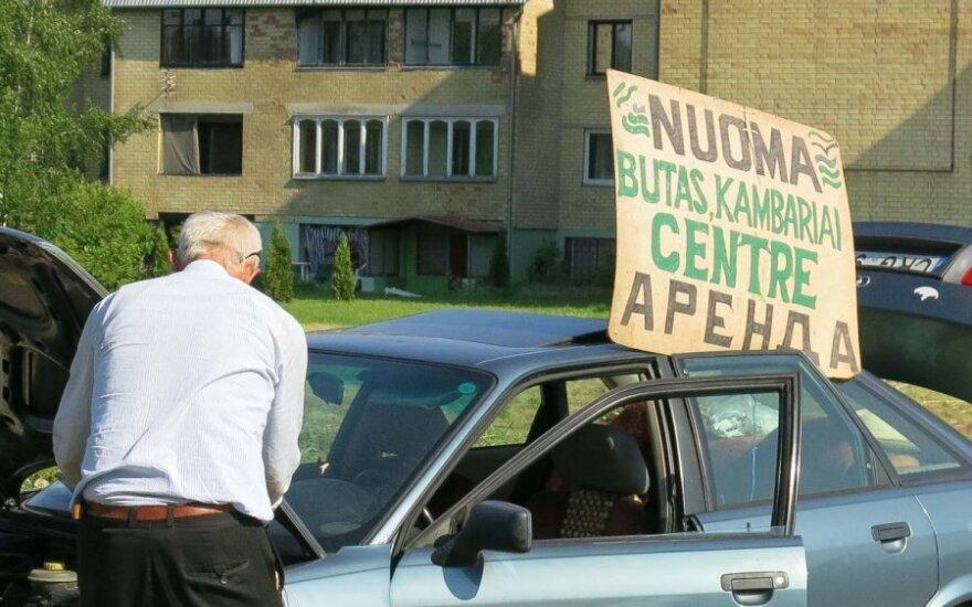 Ar laikas Lietuvoje uždėti apynasrį nuomos kainoms?