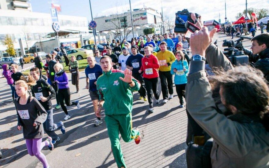 Dėl sveikatos problemų Ž. Balčiūnaitė nestartavo savo vardo bėgime