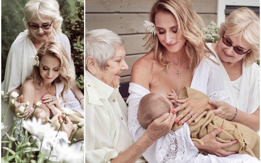 Violeta Repčenkaitė su šeima / FOTO: Akvilė Razauskienė