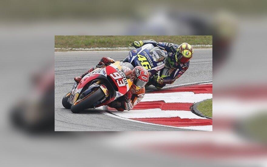 """""""MotoGP"""": dramos atomazga – Valensijoje"""