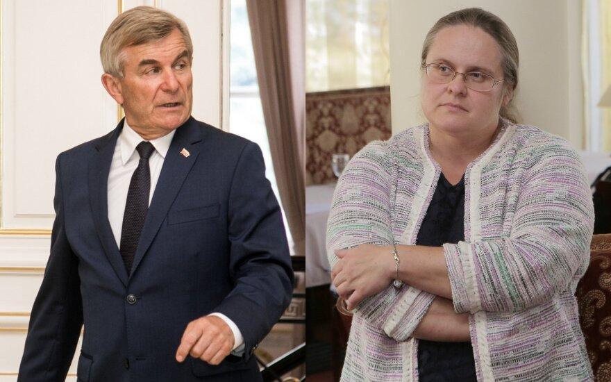 Viktoras Pranckietis, Agnė Širinskienė