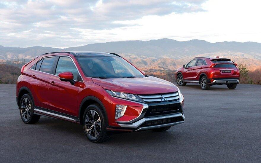 """""""Mitsubishi Eclipse Cross"""" suteiktas 5 žvaigždučių """"Euro NCAP"""" saugumo reitingas"""
