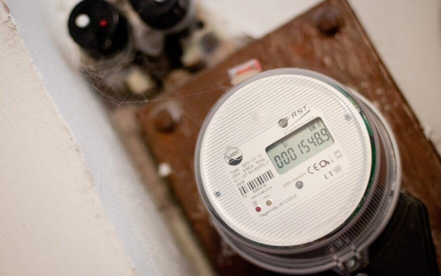 ESO planuoja elektros skaitiklių keitimo projektą